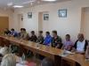 4 липня 2016 року у малому залі адміністративної будівлі міської ради відбулася зустріч міського голови Бахмута Олексія Реви з учасниками бойових дій і сім'ями загиблих.