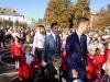 Сьогодні усі навчальні заклади Бахмутської міської ради відсвяткували свято Дня знань та Першого дзвоника. У цьому році до шкільних лав Бахмутської міської ради сяде 7974 школяра, з яких 951 першокласника та 374 учня випускних класів.