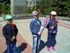 Діти та дорослі дитячого садка №49 «Кріпиш» також поклали квіти до пам'ятника «Визволителів Донбасу».