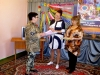 Лідер руху «Жінки за вільну Україну» Раїса Шматко завітала до кімнати школярів «Бригантина»