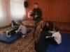 У Бахмутській загальноосвітній школі I-II ступенів №7 відбулося заняття з надання  першої допомоги, яке проводилось з учнями 8-9 класів кваліфікованим військовим лікарем 65 військового госпіталю.