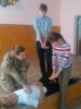 Майстер-клас з першої долікарняної допомоги у Бахмутській загальноосвітньій школі І-ІІ ступенів №4