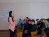 17 квітня на базі Бахмутського НВК №11 пройшла зустріч учнівської та студентської молоді з письменницею Ольгою Кирилюк. Роман «Іду на мир», представлений для ознайомлення, присвячений сучасним подіям на Сході України.