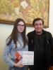 Учениця Бахмутської школи №5  Анастасія Єрофтієва отримала диплом лауреата  V Всеукраїнського та I міжнародного бізнес-турніру «Стратегія фірми – 2018».