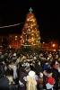 Вечером на площади Свободы для жителей и гостей города состоялось торжественное открытие городской елки.