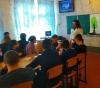 6 березня  фахівці- профконсультанти Бахмутського міського центру зайнятості Тамара Богдан і Оксана Мавріна зустрілися із 24 старшокласниками  школи № 9  міста Бахмут.