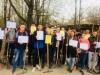 11 квітня стартував другий етап акції - прибирання «Хто, як не ми». Загальними зусиллями студентів  було приведено у належний стан верхню частину Бахмутського парку культури та відпочинку.