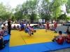 18 травня, в рамках святкування Дня Європи, в Бахмуті на стадіоні Металург пройшло спортивне свято.