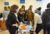 9 жовтня фахівці Бахмутського міського центру зайнятості зустрічали старшокласників з загально-освітньої школи № 18