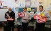 Бахмутську школу №3 відвідали представники Міжнародного соціального Проекту «Книга Добра», Благодійного Фонду «Чисті Серцем» і Центру української культури в м. Таллін