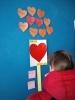 До Дня святого Валентина  фахівець із соціальної роботи Бахмутського міського центру соціальних служб для сім`ї, дітей та молоді провів із студентами тренінг на тему «Дружба та кохання».