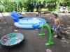 У липні дитячий садок №10 поповнився дітлахами з дошкільних навчальних закладів №25 «Дзвіночок» та №52 «Веселка», які закрилися на канікули. Щоб наповнити життя малюків радісними подіями, в п'ятницю пройшло літнє свято день Нептуна.