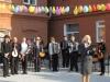 15 октября 2014 г. состоялось официальное открытие «Музыкальной площадки» во дворе Школы искусств г. Артемовска в рамках проекта «Музыка нашего двора» по конкурсу грантов, учрежденных исполкомом Артемовского городского совета.