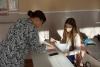 """Фахівчиня центру зайнятості презентувала підліткам веб - базовану платформу з професійної орієнтації  """"Моя професія: консультаційна мережа"""",  яка надає можливість пройти поглиблене профдіагностичне тестування та дізнатися про  свої професійні схильності."""